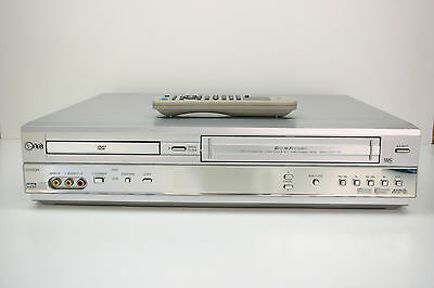 LG DC-593W VCR/DVD Combo Player With Remote VHS Player