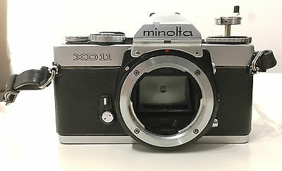Minolta Xd 11 35Mm Film Camera For Parts