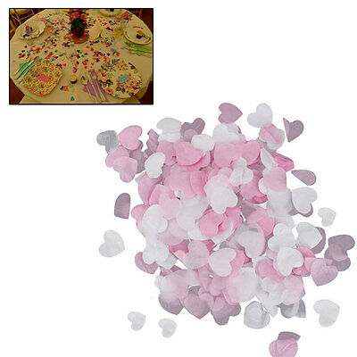 15g/Pack Light Pink Mini Paper Love Hearts Confetti Wedding Party Decoration New