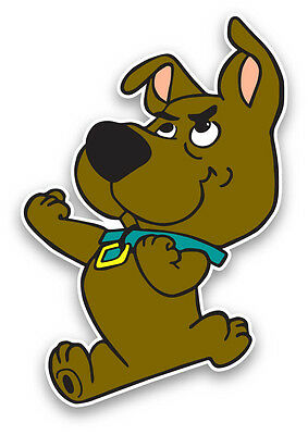 "Scrappy doo sticker decal 5""x4"" scooby doo"