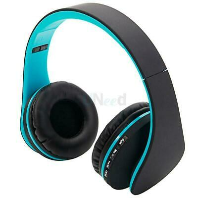 4 in 1 Foldable Wireless Stereo Bass Bluetooth Headphone FM Radio Headset MP3 TF