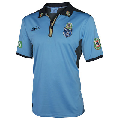 2017 NSW Blues Players Polo - State Of Origin - New South Wales - Size S to 3XL