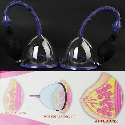 Female Breast Suction Cup Vacuum Enlargement L Cupping Pump Enhance Augmentation