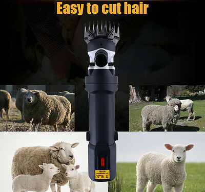 320W Sheep Goat Clipper Electric Shearing Machine Farm Animal Supplies 110/220V