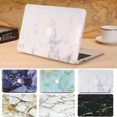 Matte Marble Hard Case Cover Shell for Macbook Air 13 A1369 A1466