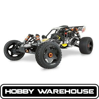 King Motor Baja KSRC001 Wild Grey 29cc 1/5 Scale 2WD RC Buggy
