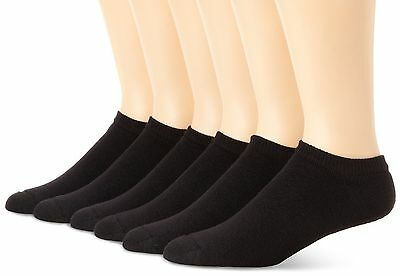 Hanes Men's 6 Pack Classics No Show Socks, Sock Size: 10-13 / Shoe Size: 6-12