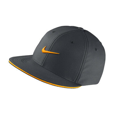 NEW Nike Golf True Tour Cap - Dark Grey/Vivid Orange [Size: X/L]