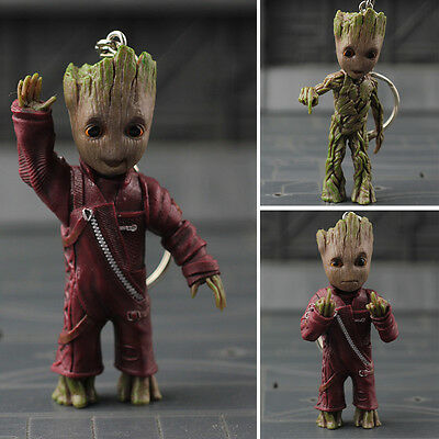 Guardians of the Galaxy Figur IB PVC Figure Vol.2 Baby Groot Wave Key Chain Hand