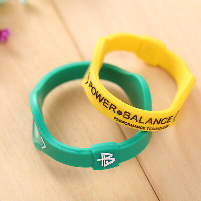 Sports Power Balance Energy Health Original Bracelet Silicone Random Color