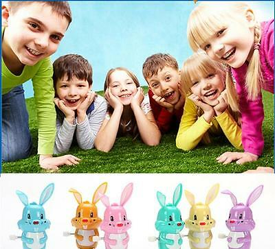 Clockwork  Kids Traditional Toys Pet Clockwork Wind Up Toys Little Rabbit Gift