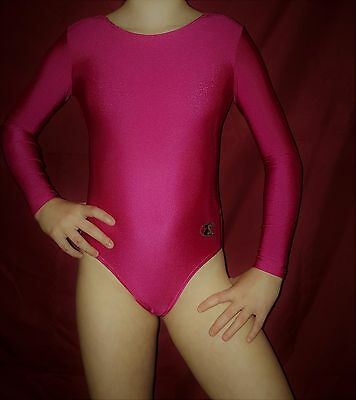 """�� Girls ZONE COMPETITION Leotard �� SIZE=30""""= guide only 9-11 years ��"""