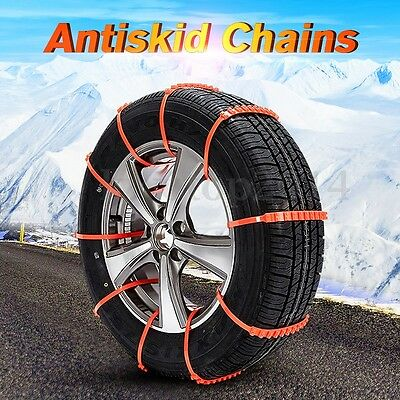 1Pc Anti-skid Chains For Snow Mud Car Truck Wheel Tyre Tire Cable Ties Nylon