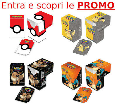 Ultra Pro DECK BOX Full View POKEMON  PORTA MAZZO CARTE