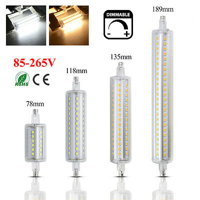 R7s LED 78mm 118mm 135mm 10W 15W 18W Security Flood Light Replace Halogen Bulb