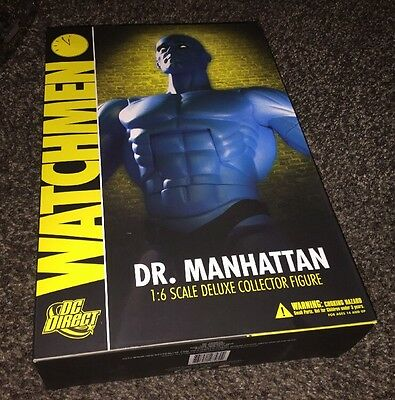 Watchmen Dr. Manhattan 1:6 Scale DC Direct Deluxe Collector Figure