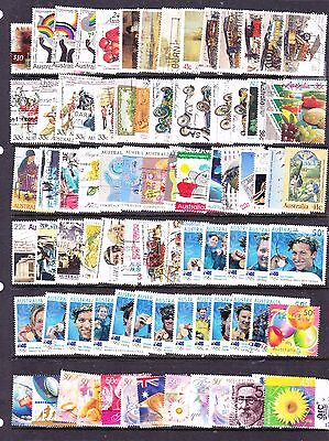 Australian stamps -  Approx 150 Used