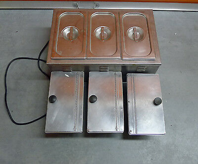 Used APW Wyott Countertop Food Pan Warmer with Extra Pans