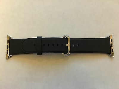 Genuine Apple  Watch Band -  42mm Black Classic Buckle - MMHD2AM/A