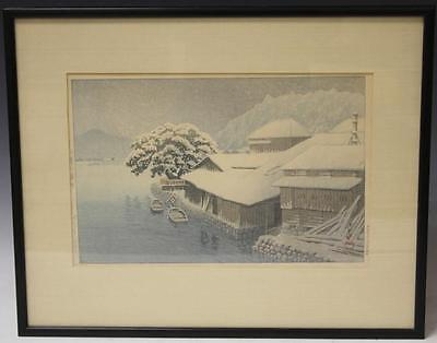 LOT OF (2) EARLY JAPANESE WOODBLOCK PRINTS Lot 6354