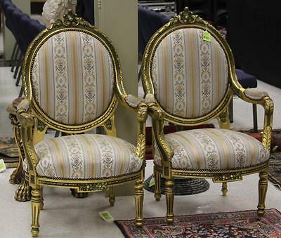 PAIR OF FRENCH STYLE ARM CHAIRS Lot 6310