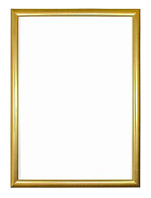 Budget Picture Frames Photo Poster Frames In Gold - A4 A3 10x8 & More Sizes
