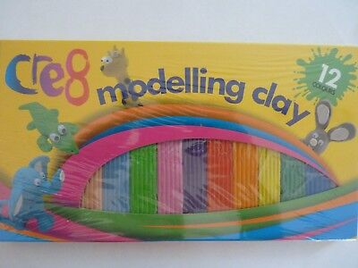 Childrens Kids Modelling Clay Multicoloured Plasticine Strip Arts And Crafts Hob