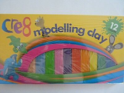 Childrens Modelling Clay Kids Multicoloured Plasticine Strip Arts And Crafts Hob