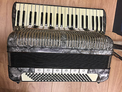 Piano Accordion Hohner Tango VM 41 treble 120 bass 4 voice Musette LMMM
