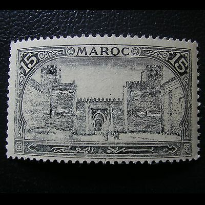 MARRUECOS 1917 Yt 68 FES Grand Mechouar 15 c. MNH