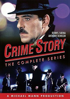 Crime Story: The Complete 1980s TV  Series Seasons 1 & 2 Box / DVD Set NEW!