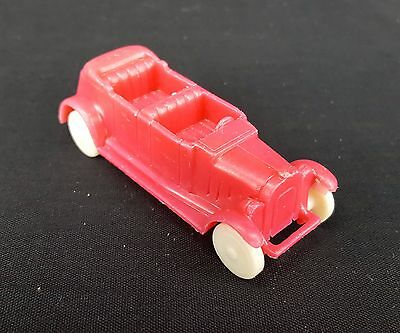 1969 Post ARCHIES Jalopy fuschia pink CAR Alpha-Bits cereal premium FREE SHIP