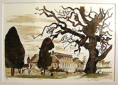 EDWIN LA DELL - Gordonstoun - Signed limited edition print