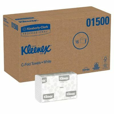 Kleenex Paper Towel ''White, 10.125 x 13.15 , 150 Sheets, C-Fold'' *BRAND NEW*