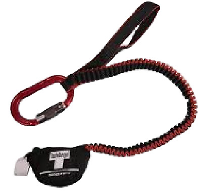 NEW ENGLAND TEUFELBERGER ANTI SHOCK CHAINSAW LANYARD Carabiner STYLE
