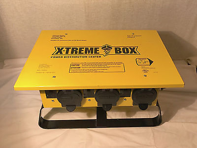 Portable X-treme Power Distribution Spider Box 50 Amp