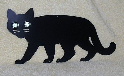 NEW IN BOXLillian Vernon black metal wall hanging cat