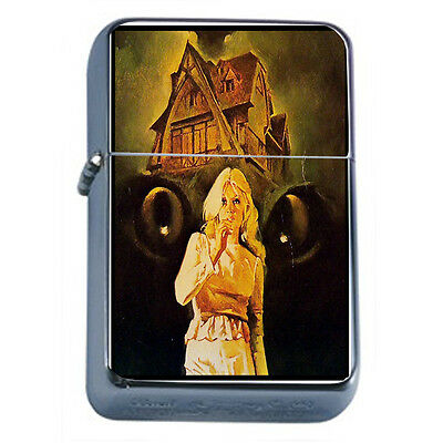 Vintage Witchcraft Witch D3 Windproof Dual Flame Torch Lighter Refillable