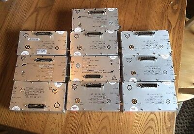 QTY (10) Magnum And Harris Microwave Phase Locked Sources 5.8-8.6 Ghz