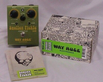 Dunlop Way Huge Swollen Pickle WHE401 Pedal with Box and Manual