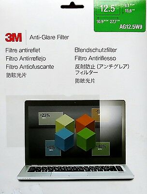 """Genuine 3M 12.5"""" Anti-Glare Filter AG12.5W9 for Widescreen Laptop Tablet"""