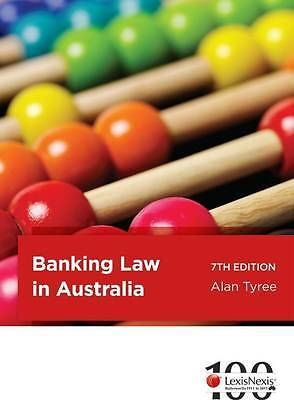 Banking Law in Australia by Alan Tyree (Paperback, 2011)
