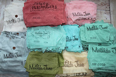 Matilda Jane Mesh Bags Lot 470 Spare Buttons Hair Prettys Accessory Crafts New