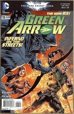 Green Arrow #11 - FN+ - New 52