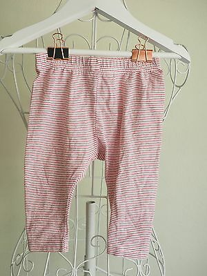 "Size 6M ""Bebe"" Striped baby Pants - Great Condition! Bargain!"