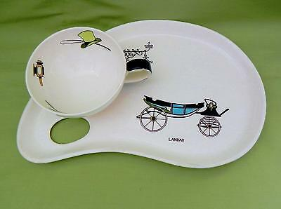 VINTAGE **Clarice Cliff** Memories of the Past - Breakfast Set - Excellent