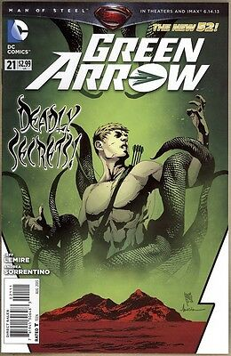 Green Arrow #21 - VF+ - New 52