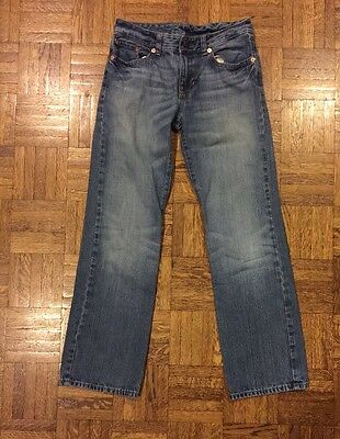 Boys Polo Ralph Lauren Jeans Blue Denim Size 10 Good Condition