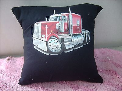Kenworth  Truck Red      Cushion 16 Inch/ 40 Cm