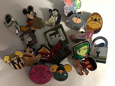 DISNEY PINS 25 pin MIXED LOT   --FAST--   FREE SHIPPING      come get your pins